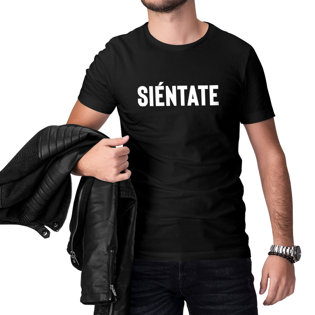 Siéntate Short Sleeve Tee for Men