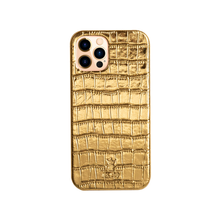 iPhone 12 Case Gold