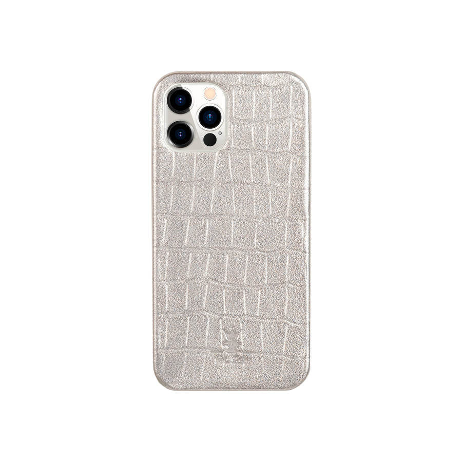 iPhone 12 Case Silver