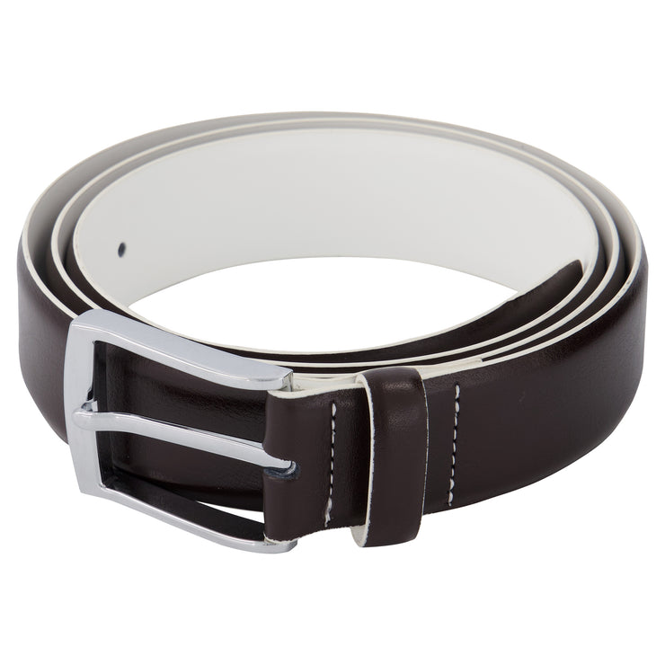 Sunny Side Belt Collection - Chocolate Brown (two-tone)