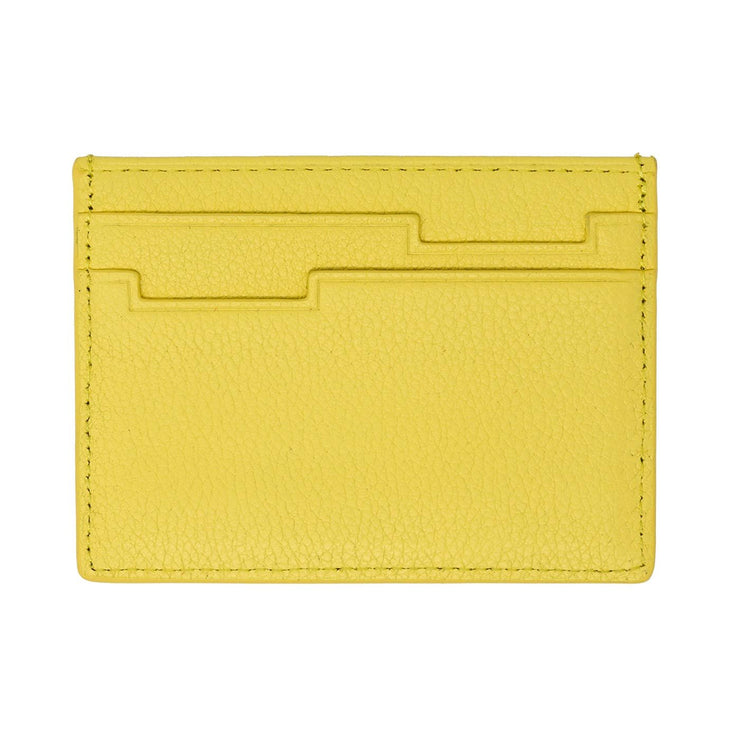 The Breeze Card Holder Collection - Canary Yellow