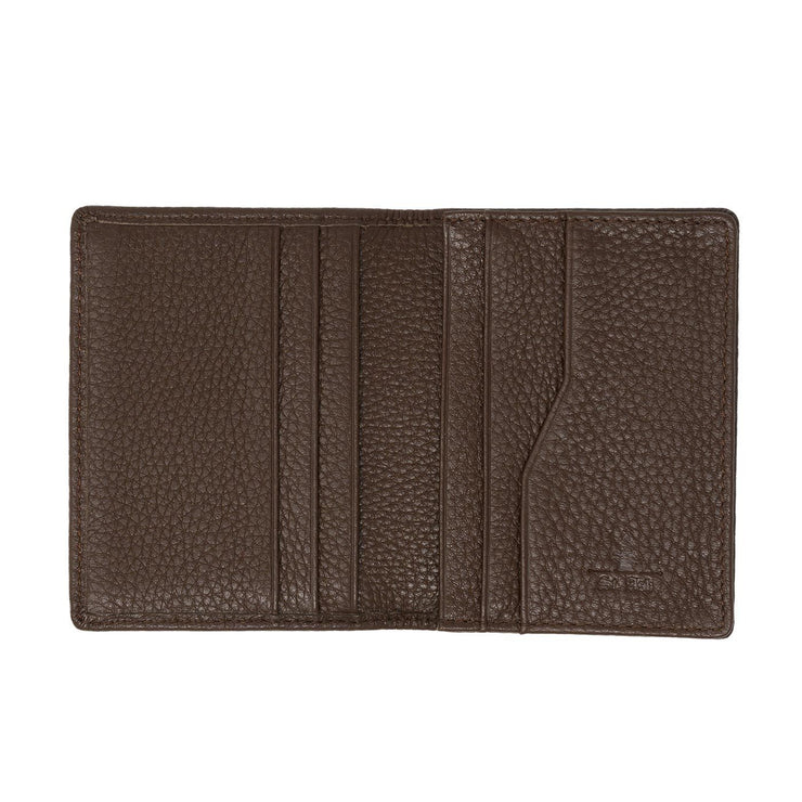 The Breeze Folding Card Holder Collection - Chocolate brown