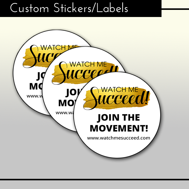 Custom Stickers/Labels w/Print