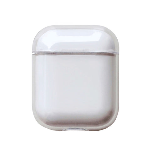 AirPods Transparent Hard PC Case For AirPods 1/2