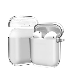 AirPods Transparent Hard PC Custom Case For AirPods 1/2