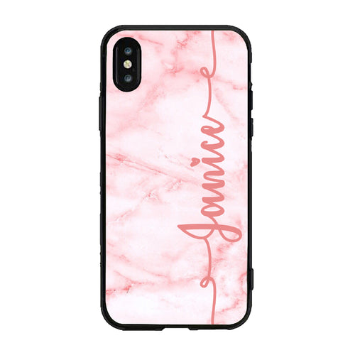 Marble Custom Case-Pink (ACRYLIC)