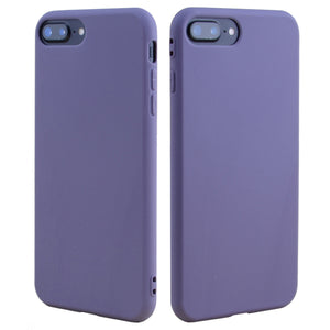 Purple Grey Soft Case for iPhone