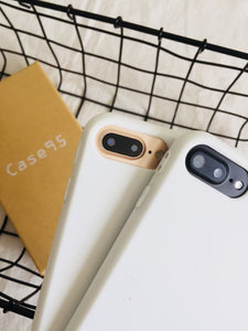 White Soft Case for iPhone