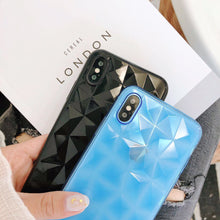Load image into Gallery viewer, Diamond Silicon 3D Case for iPhone