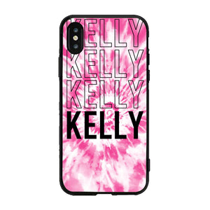 Layer x4 Custom Case  Tie-Dye-Pink (ACRYLIC)