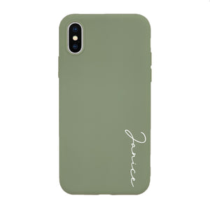 Signature Custom Case (RUBBER MATTE)