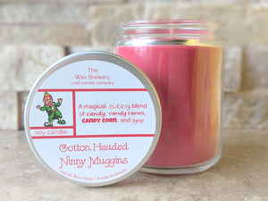 Cotton Headed Ninny Muggins- 8 oz Candle