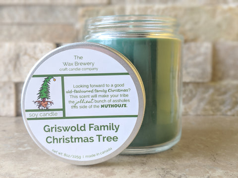 Griswold Family Christmas Tree- 8 oz Candle