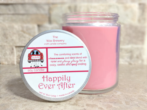 Happily Ever After- 8 oz Candle
