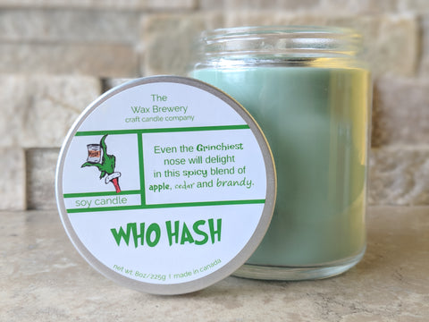 Who Hash- 8 oz Candle