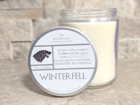 Winterfell- 8 oz Candle