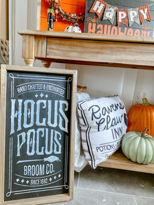 Hocus Pocus Halloween Craft Kit 12X24
