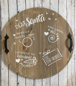 DIY Cookies for Santa Tray kit