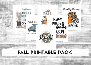 Fall Printable Home Decor Pack