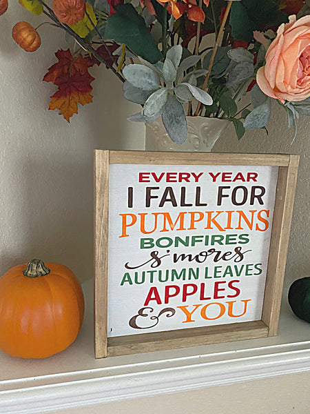 Every Year I Fall For You Craft Kit 12X12