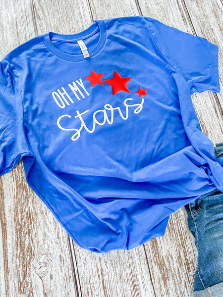 Oh My Stars Patriotic T-Shirt