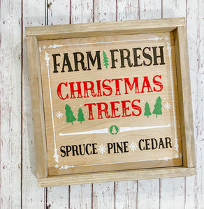 Christmas Trees Craft Kit 12X12