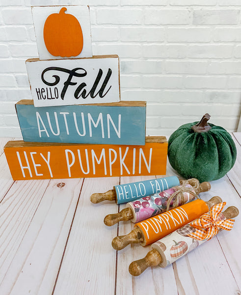 Rae Dunn Inspired Rolling Pin - DECALS ONLY