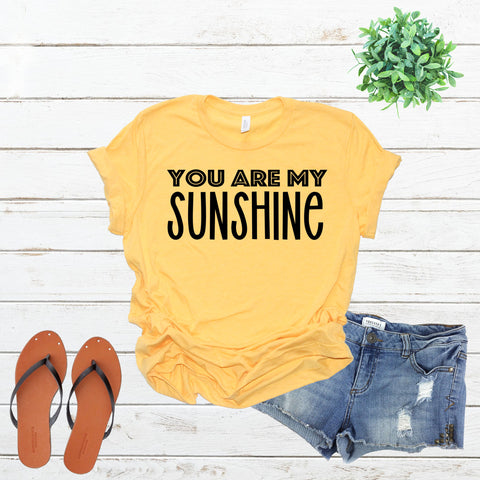You Are My Sunshine SVG Cut File