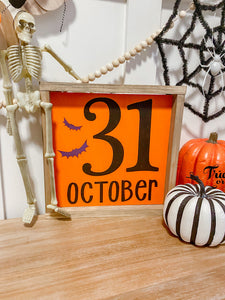 October 31st Halloween Sign Kit