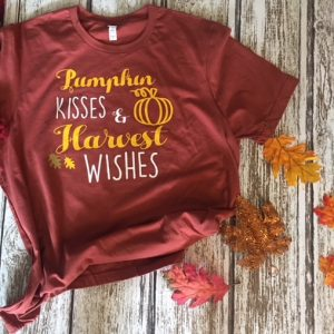 Fall Kisses Harvest Wishes