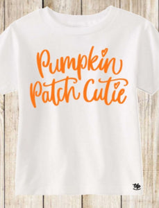 Pumpkin Patch Chtie shirt pumpkins patches fall harvest galloween thanksgiving fall shirt