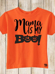 Fall Mama is my boo shirt