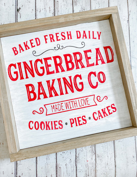 Gingerbread Baking Co Craft Kit 12X24