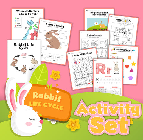 Spring & Easter Printable Kids Activity Pack