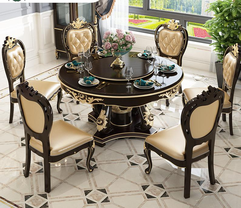 Modern Furniture Dining Room Table Chair Set Made In China