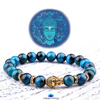 Royal Buddhist Tiger Eye Bracelet - Harmony