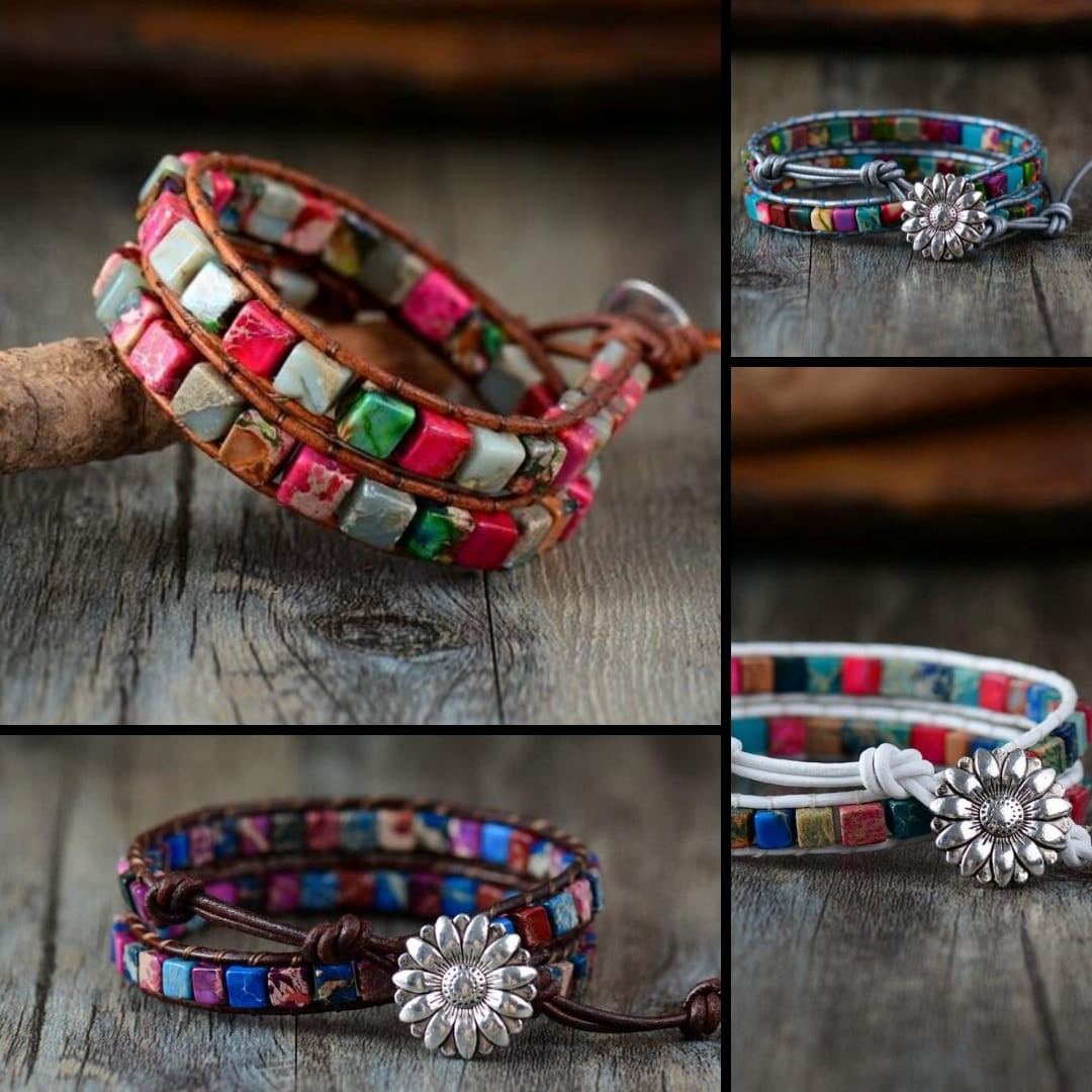 Color of life high-end bracelet