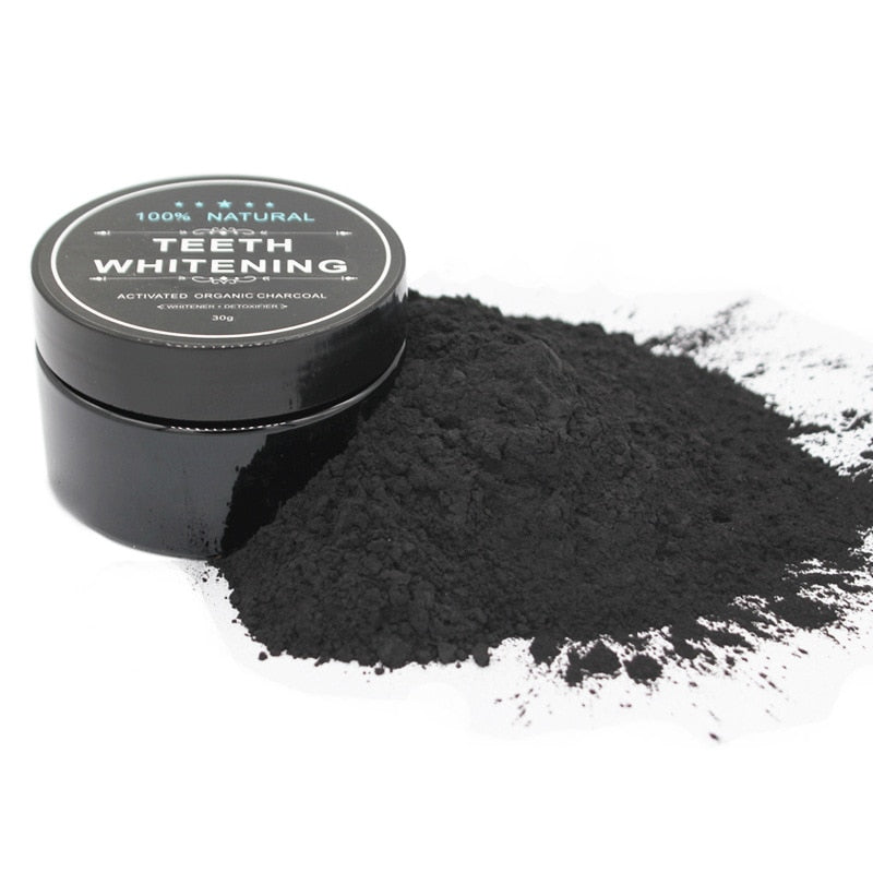 Natural Activated Charcoal Teeth Whitener Powder