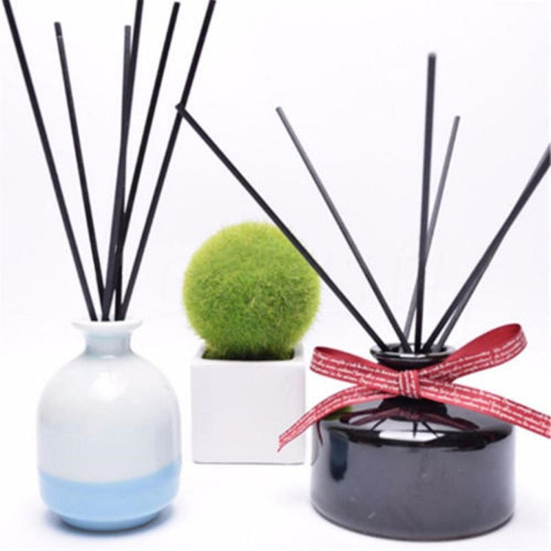 Rattan Reed Sticks Fragrance Oil Diffuser - 50 Pieces Set
