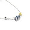 STARRY NIGHT VAN GOGH'S ENAMEL NECKLACE