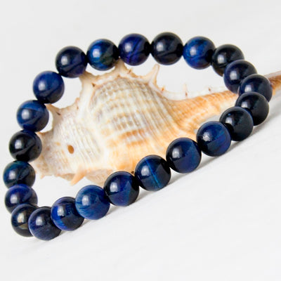 Willpower Blue Tiger Eye Bracelet