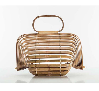 Df 137 Bamboo Bag Women Large Straw