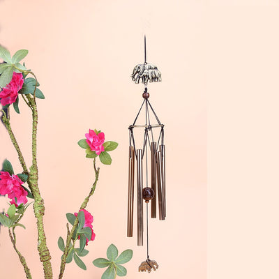 Df 102 Antique Amazing Grace Deep Resonant 6 Tube Windchime