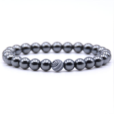 Weight Loss Black Magnetic Bracelet - 18 Bead Colors