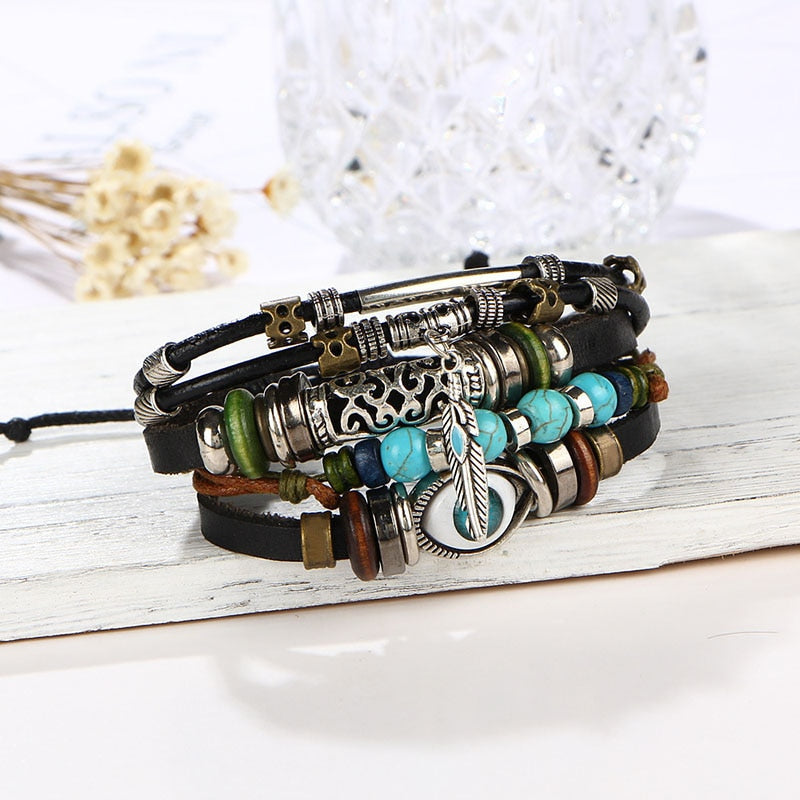 Multi-Layered Evil Eye Bracelet