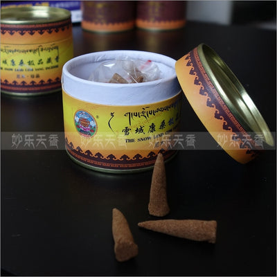 Df 20 Tibetan incense cone - Aroma of Tibet ancient monasteries