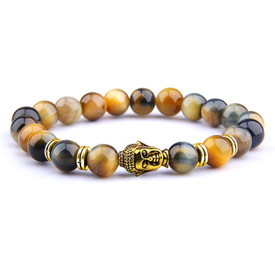 Buddhist Tiger Eye Bracelet | Balance