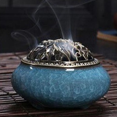 Ceramic Incense Burners - 11 Porcelain Colors