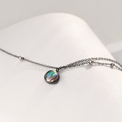 Milky Way Abalone Necklace
