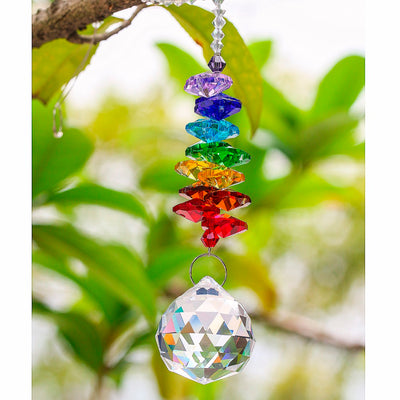 Df 97 Chakra Rainbow Crystal Sun Catchers
